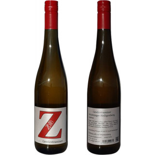 2018 Schützinger Heiligenberg Gewürztraminer Spätlese süß - Weingut Zaiß