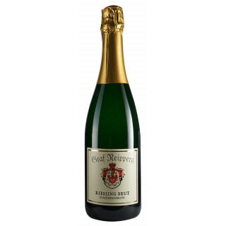 2018 Riesling Sekt QbA brut Flaschengärung - Weingut Graf Neipperg
