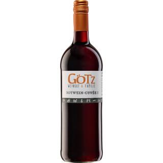 2018 Rotwein-Cuvée trocken 1L - Weingut & Familie Götz