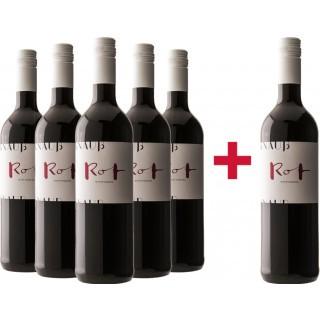 5+1 Rot trocken Paket - Weingut Knauß