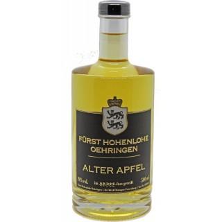 """Apfel """"Spirituose mit Fruchtauszug"""" 0,5 L - Weingut Fürst Hohenlohe-Oehringen"""