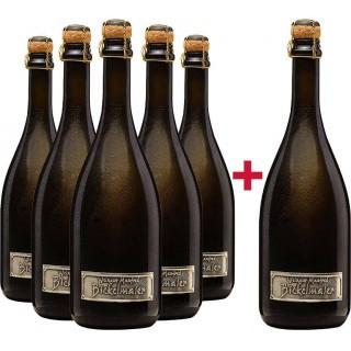 5+1 Paket Riesling Sekt brut - Weingut Manfred Bickelmaier