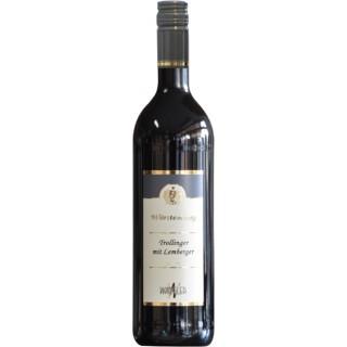 2018 Abstatter Schozachtal Trollinger-Lemberger halbtrocken - Weinkellerei Wangler