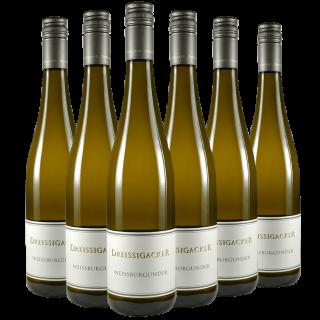 2016 Weißburgunder 5+1 Paket - Weingut Dreissigacker