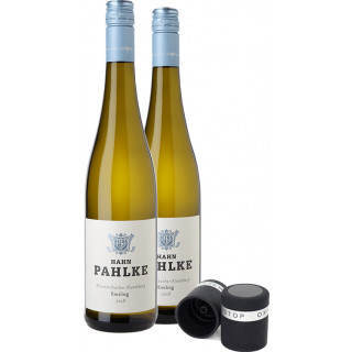 Hahn Pahlke Riesling- Paket mit Weinverschluss