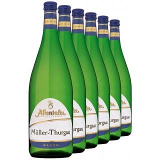 2019 Müller-Thurgau 1L QbA (6 Flaschen) - Affentaler Winzer