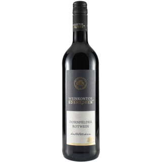 2017 Dornfelder QbA halbtrocken - Weinkontor Edenkoben (Winzergenossenschaft Edenkoben)