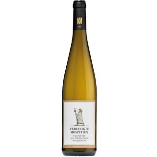 2020 Piesport Goldtröpfchen Riesling Kabinett fruchtig lieblich - Weingut Vereinigte Hospitien