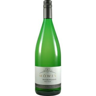 2020 Weißburgunder trocken 1,0 L - Weingut Möwes