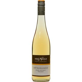 2019 Rheingau Spätburgunder Blanc de Noir trocken *** - Weingut Heinz Nikolai