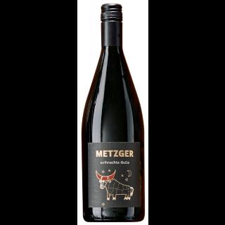 Weihnachts-Bulle Winzerglühwein Rot Lieblich (1,0 L) - Weingut Metzger