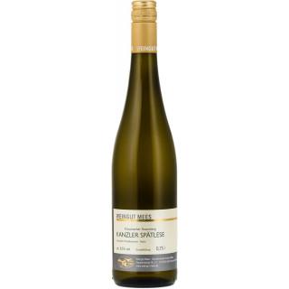 2017 Kanzler Spätlese Weißwein lieblich süß Nahe Kreuznacher Rosenberg - Weingut Mees