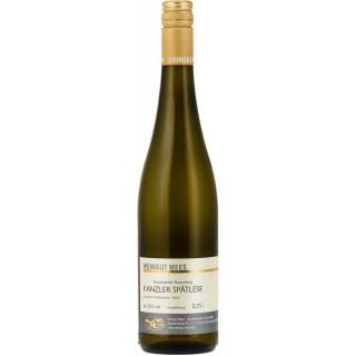 2019 Kanzler Spätlese Kreuznacher Rosenberg Nahe Weißwein Lagenwein lieblich süß - Weingut Mees