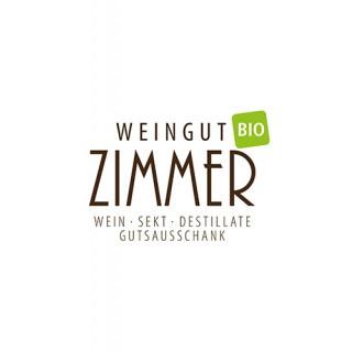 2017 Merlot im Barique gereift QbA trocken BIO - Weingut Zimmer