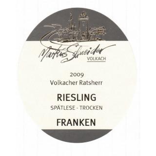 2009 Riesling Spätlese Trocken - Weingut Markus Schneider