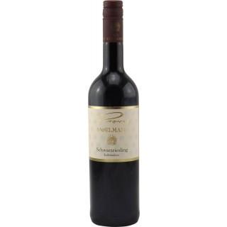 2015 Schwarzriesling Rotwein halbtrocken - Weingut Provis Anselmann