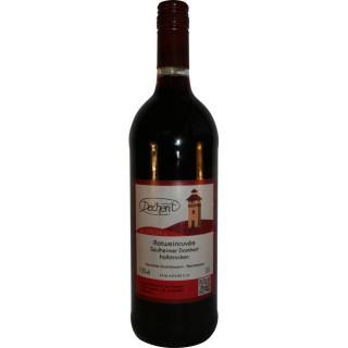 2016 Saulheimer Domherr Rotweincuvée halbtrocken 1L - Weingut Heinz-Willi Dechent