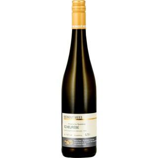 2018 Scheurebe halbtrocken Kreuznacher Rosenberg Nahe Weißwein QbA - Weingut Mees