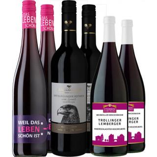 Rotwein halbtrocken Paket
