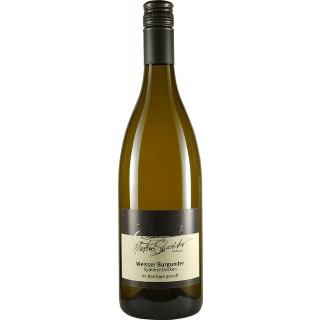 2017 Weißer Burgunder Spätlese im Barrique gereift vom Muschelkalk trocken - Weingut Markus Schneider