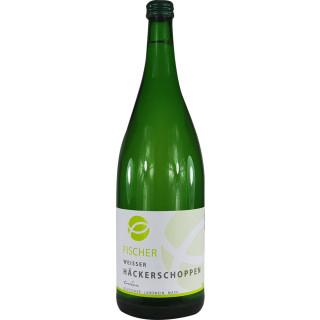 """Hausschoppen """"Weiß"""" trocken (Fangfrisch) 1L - Weingut Fischer"""