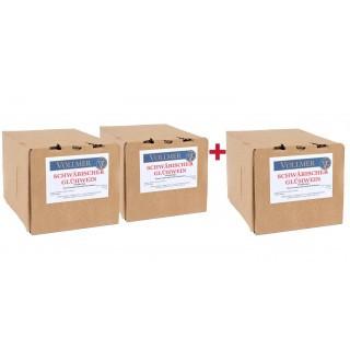 """2+1 Paket Roter Glühwein 3L """"Bag-in-Box"""" - Weingut Roland Vollmer"""