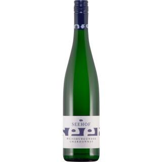 2018 Weißburgunder & Chardonnay trocken - Weingut Seehof