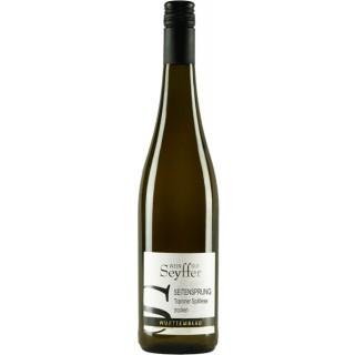 2020 SEITENSPRUNG Traminer Spätlese trocken - Weingut Seyffer