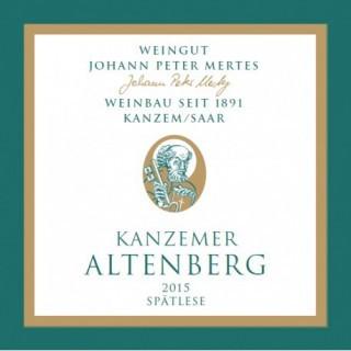 2015 Kanzemer Altenberg Riesling Spätlese süß - Weingut Johann Peter Mertes