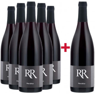5+1 Paket Cuvée Herzblut - Weingut Richard Rinck