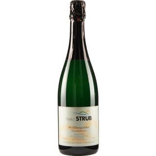 Weißer Burgunder Sekt b.A. brut - Weingut Heiko Strub