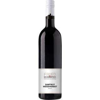 2018 Samtrot Weißherbst Auslese edelsüß 0,5L - Weingut Fried Baumgärtner