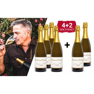 WEIN-HIGHLIGHT NR. 24 Sekt-Genuss Paket +2 Flaschen gratis