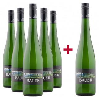 5+1 Wagramer Veltliner und Riesling veganes Entdeckerpaket - Weingut Josef Bauer