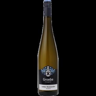 2018 Gelber Muskateller feinherb BIO - Weingut Groebe am Bergkloster