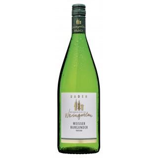2018 Weißer Burgunder trocken 1,0 L - Weinmanufaktur Weingarten