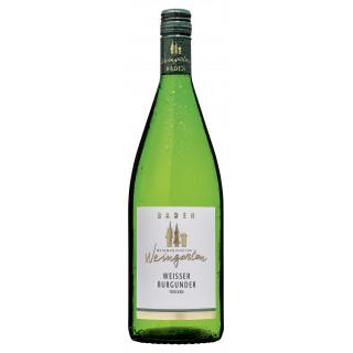 2019 Weißer Burgunder trocken 1,0 L - Weinmanufaktur Weingarten