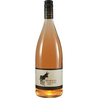 2019 Portugieser Rosé lieblich 1,0 L - Weingut Michael Bender