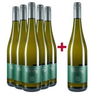 5+1 Riesling feinherb Paket - Weingut Tratzky