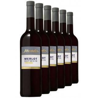 "2019 ""Das besondere Fass"" Merlot QbA trocken (6 Flaschen) - Affentaler Winzer"