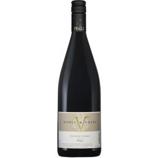 2018 Dornfelder Rotwein trocken 1L - Weingut Knöll & Vogel