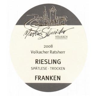 2008 Riesling Spätlese Trocken - Weingut Markus Schneider