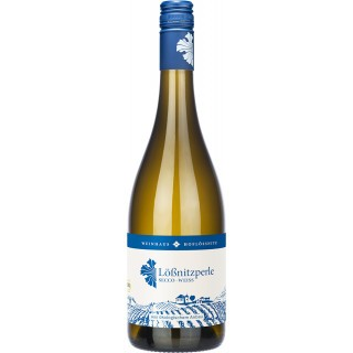 Lößnitzperle Perlwein trocken Bio - Weinhaus Hoflößnitz
