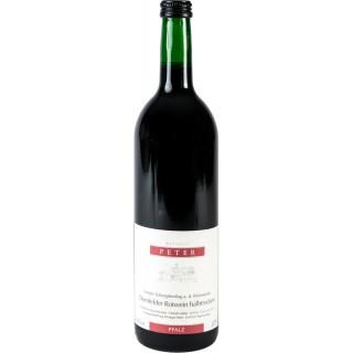 2017 Dornfelder Rotwein halbtrocken - Weingut Peter