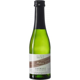 Crémant - klassische Flaschengärung Crémant trocken 0,2 L - Weingut Ludwig Mißbach