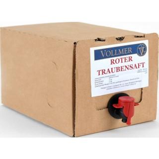 Roter Traubensaft 3L Bag-in-Box Weinschlauch 3,0 L - Weingut Roland Vollmer