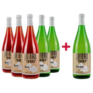 Spritziges Riesling & Rose Paket - Weingut 70469R!
