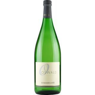 2016 Sommercuvée lieblich (1000ml) - Weingut Oswald
