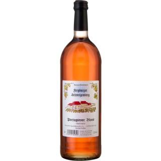 2020 Freyburger Schweigenberg Portugieser Rosé trocken 1,0 L - Weingut Schulze