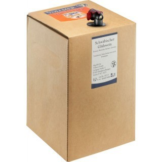 Schwäbischer Glühwein rot 5L Bag-in-Box Weinschlauch - Weingut Roland Vollmer